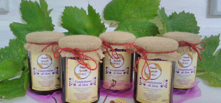 Confettura artigianale d'uva